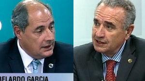 Pedro Omodeo y Abelardo Garcia